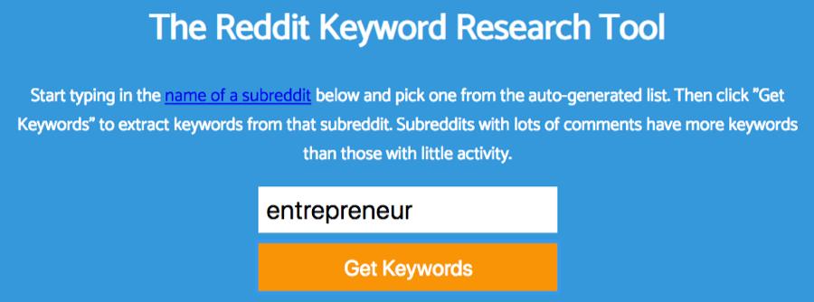 Keyworddit gratis SEO verktøy